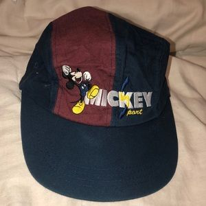 Vintage Mickey Sport Dad Hat